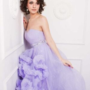 Pilla Blue gown